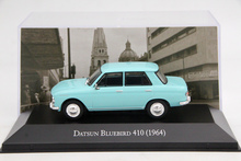 IXO Altaya 1:43 Scale Datsun Bluebird 410 1964 Toys Car Diecast Models Limited Edition Auto Collection(China)