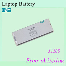 "White Laptop Battery A1185 For Apple MacBook Pro 13"" A1185 MA561 MA561FE/A MA561G/A MA561J/A battery"