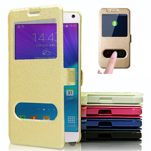 ZEALLION For Huawei Honor 4A 4C 5A 5C 5X 6C 6X 7 8 V8 Y3 Y5 II G8 Silk Case Skin Wallet Window Flip Stand PU Leather Cover