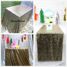 Black Gold Sequin Tablecloth 90x132 Inches Wedding Cake Tablecloth Rectangle Sequin Table Linen Wedding Sequin Table Linens
