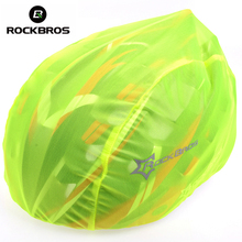 Rockbros Windproof Dust-proof Rain Cover MTB Road Bike Bicycle Cycling Cycle Ultra-light Helmet Covers Free Size New, 4 Colors