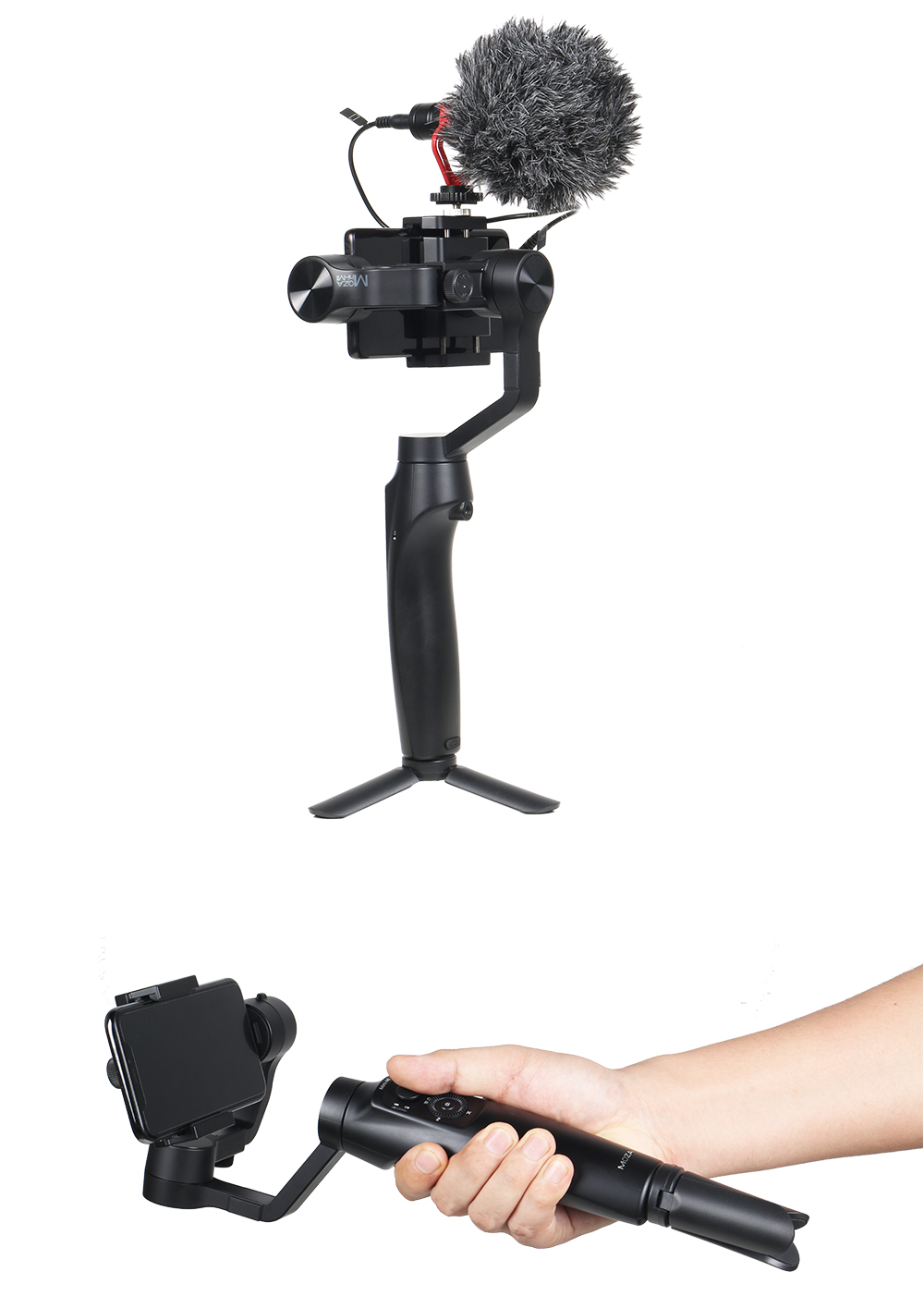 MOZA Mini Mi Mini-Mi 3-Axis Handheld Gimbal Stabilizer for Huawei Mate 20 10 for Samsung Galaxy S8,S9 Note 8,9 for Xiaomi 8,7,6