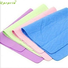 Auto car-styling car styling  Car Nature Real Leather Washing Cloth Cleaning Towel Wipes Chamois Cham 43x32cm feb21