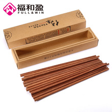 10 Pairs/Set Chinese Style Bamboo Wooden Chopsticks Home Kitchen Dining Tableware With Traditional Box Wedding Gifts(China)