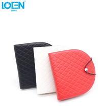 2017 Newest 20 Disc CD Holder DVD Case Storage Wallet VCD Organizer PU Leather Bag leather cd wallet dvd organizer cd holder