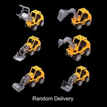 OCDAY Machineshop Truck Artificial Model Toy Car Mini Construction Vehicle Engineering Car Dump Truck Children Gift Tractor Toys