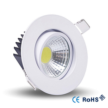 Recessed LED Dimmable Downlight COB 6W 9W 12W LED Spot light LED decoration Ceiling Lamp AC 110V 220V(China)