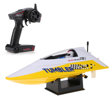 Brushed Motor Rc Boat Volantex TUMBLER V796-1 2.4GHz 25km/h High Speed Auto-roll-back Pool RTR Remote Control Racing Boat Ship