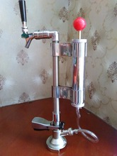 homebrew Manual Beer keg pump with beer faucet & A type coupler, plate type beer pump unit
