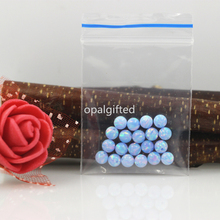 20pcs Free Shipping OP26 Cornflower Blue 4mm Hot Sale Synthetic Full Drilled Round Ball Opal Beads Synthetic Opal Stone Price(China)