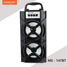 Portable Zeepin MS - 147BT High Power Output FM Radio Wireless Bluetooth Speaker Support Diverse Play Mode AUX Function