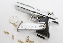 1/2.5 metal high simulation handgun Desert Eagle gun police  toy pistol gun model