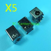 5 PCS Original New Laptop dc power jack For HP Compaq DV6000 DV9000 V6000 F500 F700 Free Shipping +Tracking Number(China)