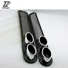 Buy ZD 2pcs/set 3D Cool Car-Styling Carbon Exhaust Sticker Mercedes W203 W211 W204 W210 Benz BMW F10 E34 E30 F20 X5 E70 Kia Rio for $14.96 in AliExpress store