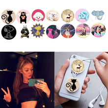 Cute Finger Holder POP With Anti-fall Phone Smartphone Desk Stand Grip Socket Phone Mount For Apple iphone 6s Samsung Xiaomi