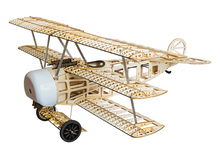 Free Shipping Balsawood Airplane Model Laser Cut Electric Power Fokker 770mm Wingspan Building Kit Woodiness model /WOOD PLANE