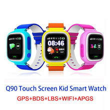 Q90 Children GPS Smartwatch 2G network For Baby Waterproof Position Wifi Location Finder Kid Anti Lost Monitor Smart Watches(China)