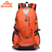 HUWAIJIANFENG Outdoor Camping 40L Backpack Mountaineering Hunting Travel Backpack Big Capacity Waterproof Sports Bag