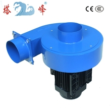 550w best motor low noise gas strong suction air ventilation duct fan vacuum blower fan 500CFM(China)
