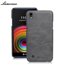 Luxury Leather Case For LG X Power Cover For LG X Power K220DS K220 Protective Back Bags Lamocase Brand