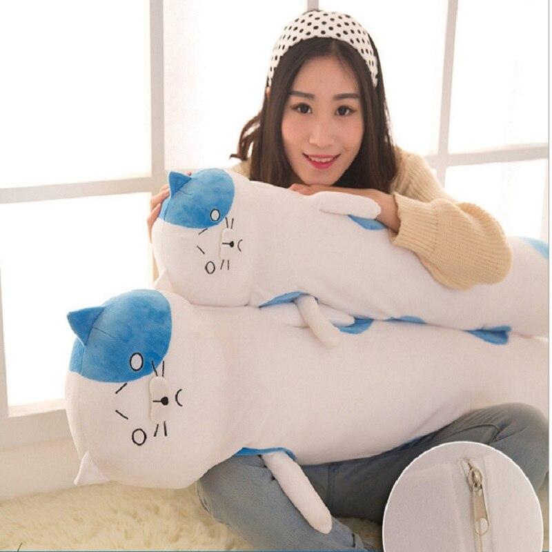 Cat Plush Doll Kids Sleeping Pillow Cats Stuffed Plush Animals Doll Children Gift Toys<br><br>Aliexpress