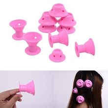 Hairstyle Soft Hair Care DIY Peco Roll Hair Style Roller Curler Salon 10pcs/lot Hair Accessories