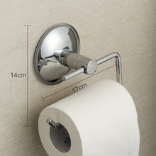 NEW Toilet Paper Roll Holder Wall  Toilet Paper Roll Holder Wall Mounted Hook Hanger Chrome Bathroom Accessory