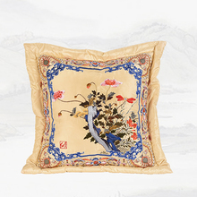 "Living Room Sofa Lumbar Pillow China Classic corn poppy big cusions square 67"" rosewood Chair back cushion car bed Throw Pillows(China)"