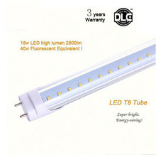 Led Tube T8 1200mm SMD2835 25LM/PC 120leds/PC 2200LM High Power factor AC85-265V CE/RoHS/SAA Approved t8 led tube 1200mm(China)