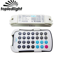 SPI-16 M16 Mini Colorful Dream Color Led Strip Light RF RGB Controller Portable Lighting Accessories For TM1804 TM1809 WS2811 IC(China)