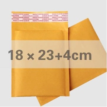charge shipping 20pcs/ lot kraft paper bag bubble envelope EBAY special packing bag 180 * 230mm