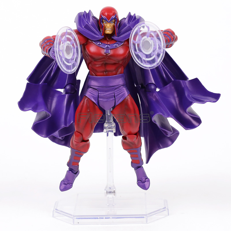 Revoltech Series NO.006 Magneto PVC Action Figure Collectible Model Toy 14.5cm<br>