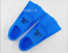 Swimming Silicone Flippers New Diving Equipment Flippers Swimming Fins with Non-slip Soles Training Short Flippers