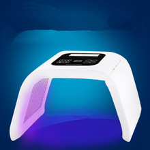 Portable PDT led light therapy Led 4/7 colors photon light machine for anti-aging skin wrinkle removal(China)