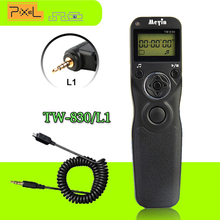 Meyin Selfie Shutter TW-830/L1 Timer Remote Control Shoot Shutter Release Time Lapse Controller With Cable For Panasonic Lumix