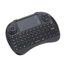 2.4G Wireless Keyboard Mouse Mini Handheld with Touchpad Joystick Remote Control Gaming Keyboard for Android TV Box Laptop PC(China)