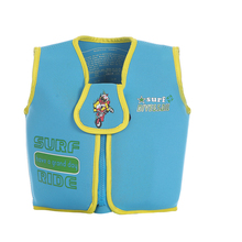 2016 Kids Swim Vest EPE Foam Neoprene Life Vest Boys Girls Blue Swimwear Swim Life Jacket for Beach Drifting Survival Jackets