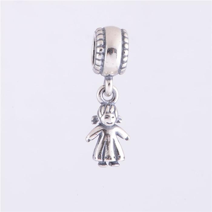 Iinbeaut 100% 925 Sterling Silver Colorful Childhood Memory Pink Swing Trojan Horse Charm Beads Fit Original Bracelet Children Beads & Jewelry Making