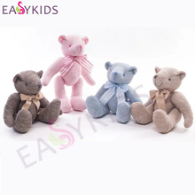 28cm 35cm Knitting Wool Teddy Bear Dolls Stuffed Animals Plush Toys Cotton Rope Bear Sleeping dolls birthday Christmas Gifts(China)