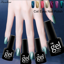Verntion 3D Cat Eyes UV Gel Polish Professional Long Lasting Lacquer Soak Off Led Magnetic Semi Permanent Polish Gel Varnish(China)