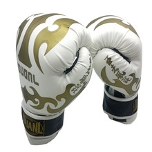 Original 3 colors 10oz PU mateial high quality breathable male fitness boxing gloves muay thai for adult free shipping