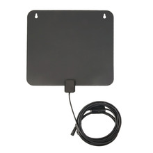 Digital TV 20-199/200-499/>500 Pcs HDTV Antenna With Amplifier 10ft and 3 ft Bulit In UL Power Adapter Receive UHF/VHF Signals(China)