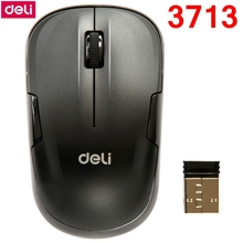 [ReadStar]Deli 3713 Wireless mouse 2.4GHz 1000dpi power saving AA battery 12 months long time standby computer laptop game mouse