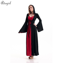 Halloween Costume England Palace Queen Maxi Dress Women Cosplay 100% Real Photos Studio shooting clothing Easter carnival Day