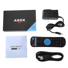 A95X A2 Android 6.0 TV BOX Amlogic S912 Octa-core Set-top Box HDMI 2.0 RJ45 4K H.265 HD Smart Media Player with Remote Control(China)