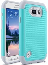 For S6 Active Case, LK Shock-Absorption Hybrid Dual Layer Armor Defender Protective  for Samsung Galaxy S6 Active