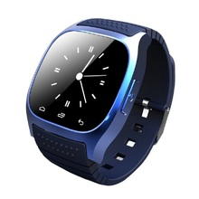 M26 Smart Bluetooth waterproof watch mobile phone Support pedometer, music player, alarm clock, support Android and IOS