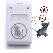 EU/ US Plug Electronic Ultrasonic Rat Mouse Repellent Anti Mosquito Repeller killer Rodent Pest Bug Reject Mole mice