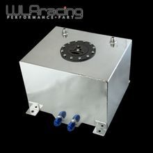 WLRING STORE- 30L Aluminium Fuel  Surge tank mirror polished Fuel cell foam inside, without sensor WLR-TK67