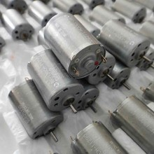 10pcs 130 cylinder motor small motor Mabuchi solar 1.5 shaft diameter model for DIY materials